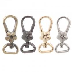 Metal lobster swivel clasp - hooks - clip buckle keyrings