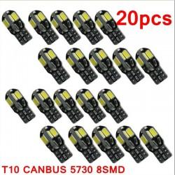 T10 12V Canbus Led car interior bulb - Error Free - 20 pieces