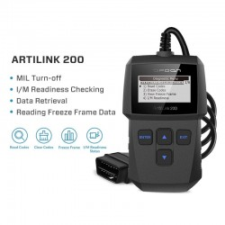 ArtiLink 200 - car diagnostic tool - OBDII OBD2 scanner - X431 code reader 3001