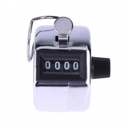 Mini digital - hand tally counter - 4 digit number