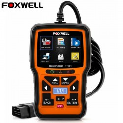 Foxwell NT301 OBD OBD2-scanner - foutcodelezer - autodiagnose - meerdere talen - universeel