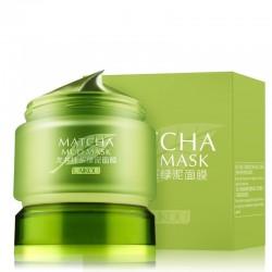 Organic green tea - mud face mask - acne treatment - blackhead removal