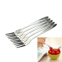 Roestvrijstalen gebaksvorkjes - vork voor desserts & voorgerechten 10/20 stuks