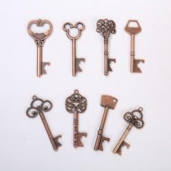 Key shaped bottle opener - vintage keychain