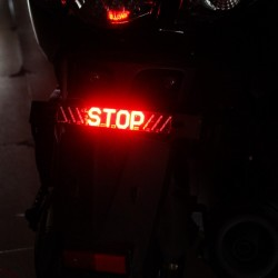 Feu arrière LED pour moto - Indicateur STOP - Feu tournant LED bande