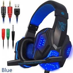 PC780 - gaming headphones - wired headset with microphone & Led