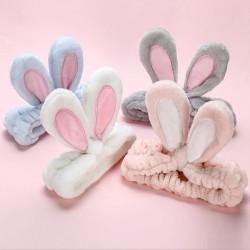 Zachte hoofdband met konijnenoren