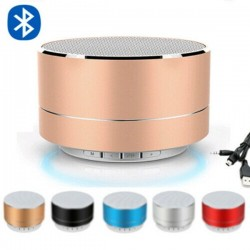 Bluetooth wireless mini speaker with LED - super bass
