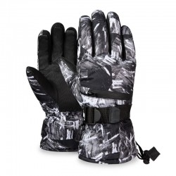 Thermal ski gloves - waterproof - 3 fingers touch screen design