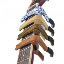 Aluminum capo for electric & acoustic guitars - clip