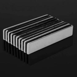 N48 Bloc de Neodymium Magnétique 50*10*2mm 10pcs