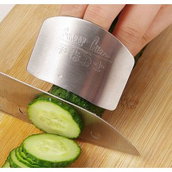 Stainless steel finger protector - finger guard - prevent cutting fingers