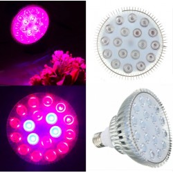 E27 - 54W Led grow lighting hydroponic - plants - vegetables- trees - indoor