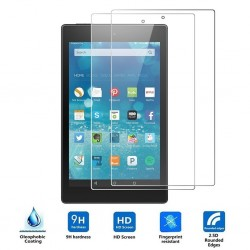 HD - ultra-thin tempered glass - screen protector - scratch-resistant for Amazon Fire 7 tablet - 2 pieces