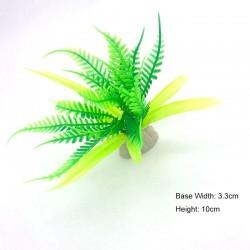 Décoration d'aquarium - non toxique - plante artificielle