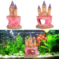 Aquarium decorative plastic figures