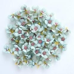 Madeliefjes van kunstzijde - voor het maken van decoratie - 2 cm - DHZ kunst - 50 stuks