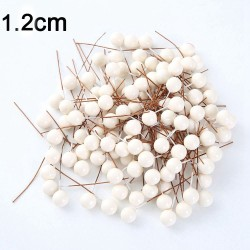 Mini plastic berry's - pearls for making decoration - DIY art - 50 pieces